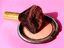 Kosmetische rouge Royalty-vrije Stock Foto's