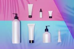 Kosmetische spot omhoog onder het zonlicht vector illustratie