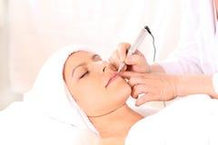 Kosmetische Tätowierung Lizenzfreie Stockfotos