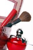 Kosmetische toebehoren Stock Foto's