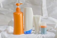 Kosmetische verpakking Stock Foto