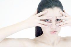 Kosmetische wonder royalty-vrije stock foto
