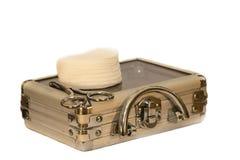 Kosmetischer Koffer Stockbilder