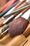 Kosmetischer Pinsel Stockbild