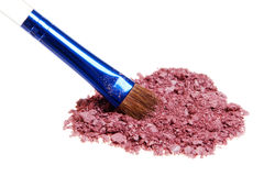 Kosmetisches Puder lizenzfreies stockfoto