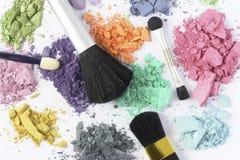 Kosmetisk färg Arkivbilder