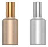 Kosmetisk liten flaska Fotografering för Bildbyråer