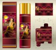 Kosmetisk magisk anstrykning för ærosol Arkivfoton