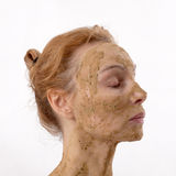 kosmetisk maskering Royaltyfria Bilder