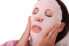 kosmetisk maskering Arkivbild