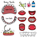 Kosmetisk tandläkare Arkivfoto