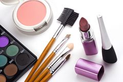 kosmetisk tillbehör Arkivfoton