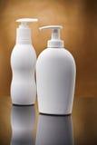 kosmetisk white för sprays två Arkivbild