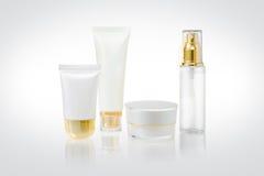 kosmetiska behållare Royaltyfria Bilder