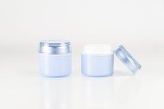 kosmetiska behållare Arkivbilder