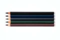 kosmetiska blyertspennor Arkivfoton