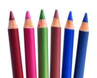 kosmetiska blyertspennor Arkivbilder