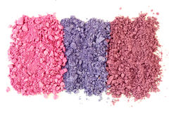 Kosmetiska färger Royaltyfria Bilder