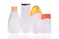 Kosmetiska flaskor Arkivfoton