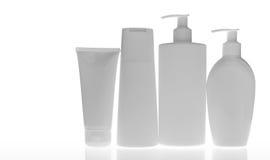 Kosmetiska flaskor Royaltyfri Fotografi