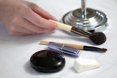 kosmetiska hjälpmedel Arkivbild