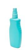 Kosmetiska plast-flaskor för färgrika toalettartiklar Arkivbilder