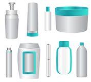 Kosmetiska produkter stock illustrationer