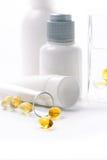 kosmetiska produkter Arkivfoton