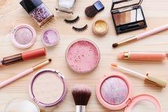 kosmetiska produkter Royaltyfria Bilder