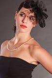 Kosmetiskt hår Arkivbild