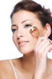 kosmetiskt krullande hjälpmedel Royaltyfri Fotografi