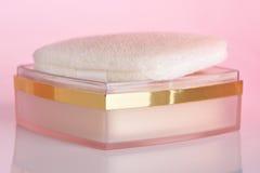 kosmetiskt pulver royaltyfria bilder