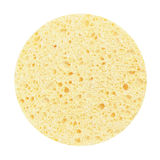 Kosmetyczna gąbka dla czyści twarzy odizolowywa Fotografia Stock