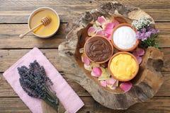 Kosmetyczna glina Fotografia Stock