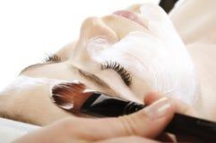 kosmetyczna TARGET204_0_ twarz Zdjęcia Royalty Free