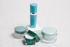 kosmetyczne śmietanki Obraz Stock