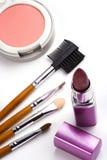 kosmetyczne akcesoria Obrazy Stock
