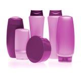 Kosmetyczne butelki Obrazy Stock