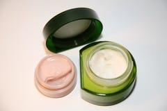 kosmetyczne śmietanki Zdjęcie Royalty Free