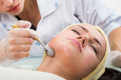 Kosmetyczne procedury dla twarzy Fotografia Stock