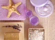 kosmetyczne spa serii Fotografia Stock