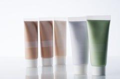 kosmetyczne tubki Zdjęcia Royalty Free