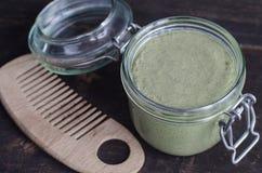 Kosmetyk maska z naturalnymi ekstraktami (pętaczka) Obraz Royalty Free