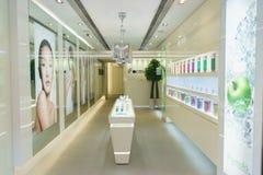 Kosmetyka butika wnętrze Zdjęcie Stock