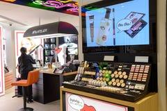 Kosmetyka butika wnętrze Obrazy Stock