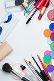 Kosmetyka makijaż Zdjęcia Stock