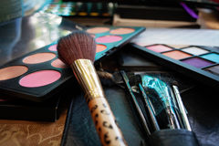 Kosmetyka makijaż Fotografia Stock