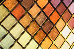 Kosmetyka zestaw dla twarz makijażu tekstury horyzontalnej Obrazy Stock