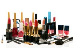 kosmetyki dekoracyjni Obrazy Royalty Free