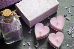 Kosmetyki dla ciało opieki i zdroju abstrakta Zdjęcie Royalty Free